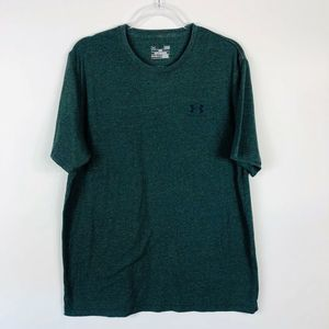 Under Armour Green Loose Fit T Shirt Short Sleeve